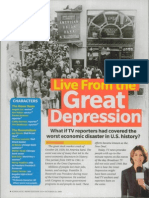live from the great depression
