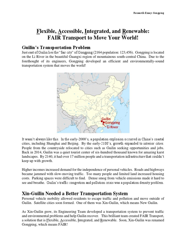 ec essay example | Transport | Energy Storage