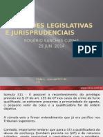 Novidades Legislativas e Jurisprudenciais ROGÉRIO SANCHES CUNHA  29 JUN. 2014.pptx