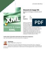 Decouverte Du Langage XML 503