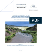 RIVER BASIN MANAGEMENT PLAN FOR AKHURYAN BASIN MANAGEMENT AREA (AKHURYAN AND METSAMOR RIVER BASINS)