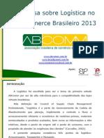 Pesquisa Logistica Ecommerce 2013 v2