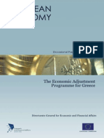 The Economic Adjustment Programme for Greece