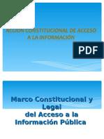 Accion Constitucional Del Acceso a La Informacion
