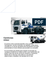Camiones Mixer