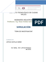 Investigacion Estructura de Un Sistema de Simulacion de Eventos Discretos