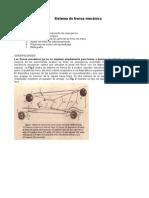 Sistema Frenos Mecanico