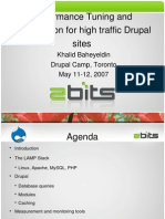 Performance Tuning and Optimization of High Traffic Drupal Sites