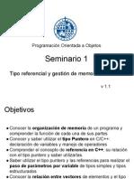 030_1415_POO_Seminario Punteros, Referencias y Memoria Dinamica