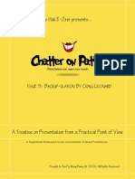Chatter on Patter - Issue 05