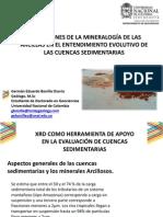 Aplicaciones de la mineralogía de las arcillas en el entendimiento evolutivo de las cuencas sedimentarias