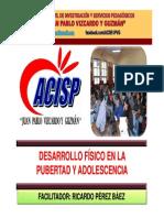 Desarrollo Fisico en La Pubertad y Adolescencia