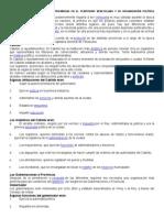 Conformación Política de Las Provincias en El Territorio Venezolano y Su Organización Política