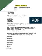 Examen Ser Bachiller 2014