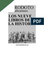 Los 9 libros de la historia