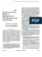 China's Environmental Super Ministry Reform_ Background, Challenges, And the Future (Environmental Law Reporter_ News & Analysi