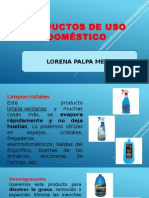 Productos de Uso Domestico