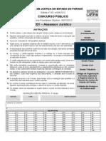 Prova TJPR Assessor-juridico