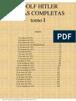 ADOLF HITLER_ Obras Completas-TomoI