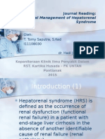 JR - Hepatorenal Syndrome