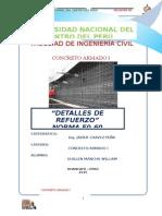 Informe Concreto Armado 1