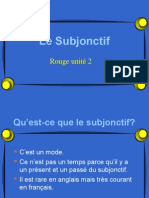explications du subjonctif