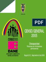 Censo discapacidad