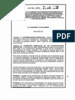 LEY 1233  DE 2008 - Contribuciones Especiales a las CTAs.pdf