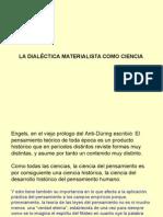 A Dialéctica Materialista Como Ciencia