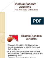 Binomial Diviations