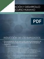 Capacitación y Desarrollo de Recurso Humano