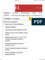 NPTEL _ Mechanical Engineering - Conduction and Radiation