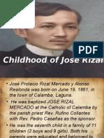 Life in Calamaba of Jose Rizal