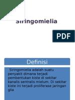 Siringomielia