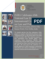 Brochure for Law Day