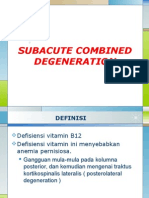 Subacute Combined Degeneration