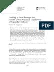 Mogensen, H - Finding a Path Through the Health Unit-1