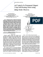 UPLOAD (1)Sensorless Speed Control of a PM Type Axial Gap MOTOR