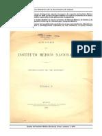 Anales InstitutoMedicoNacional TomoI 1894