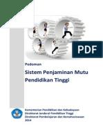 Buku Pedoman SPM Dikti 2014 ISBN