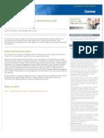 Magic Quadrant for Identity Governance and Administration (IGA)-Dec 2013