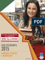 Guia Estudiantil 2015 Itca