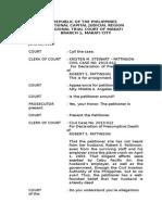 Stenographic Notes Print