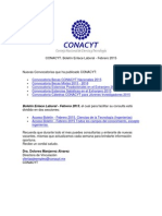 CONACYT-Boletin