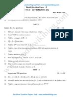 1st PUC Maths Model QP 5.pdf