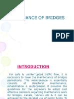 Maintenance of Bridges