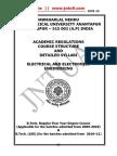 B.tech . R09 EEE Academic Regulations Syllabus