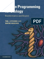Python Programming for Biology_ - Tim J. Stevens