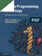 Python Programming for Biology_ - Tim J. Stevens