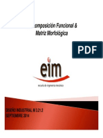 Descomposicion Funcional - Matriz Morfologica